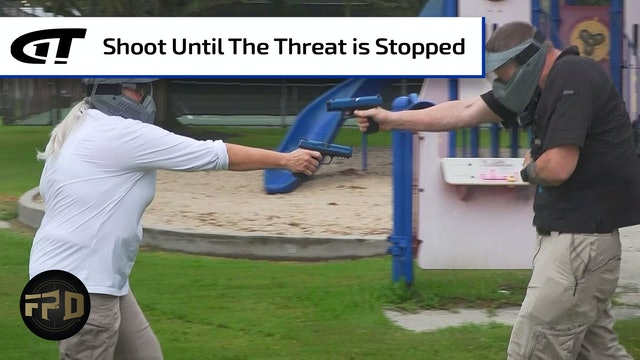 Shooting To Stop The Threat