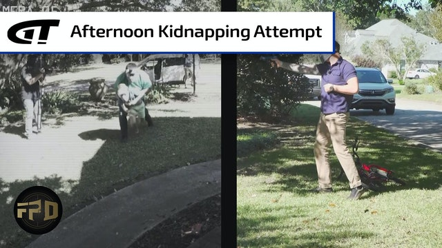Child Abducted from Front Yard | First Person Defender