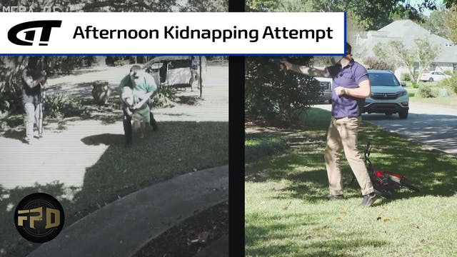 Child Abducted from Front Yard