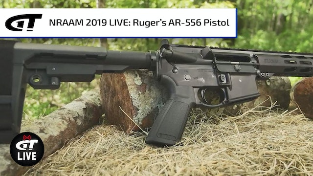 Ruger AR-556 Pistol and .350 Legend Rifle
