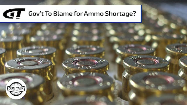 Are the Feds Restricting Ammo Distrib...
