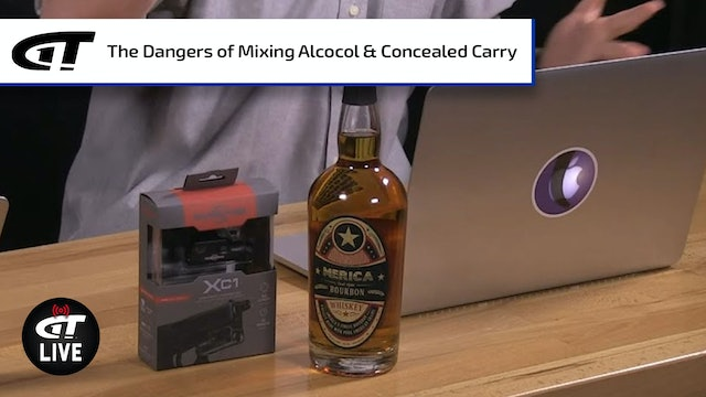 Dangers of Mixing Alcohol with Concealed Carry