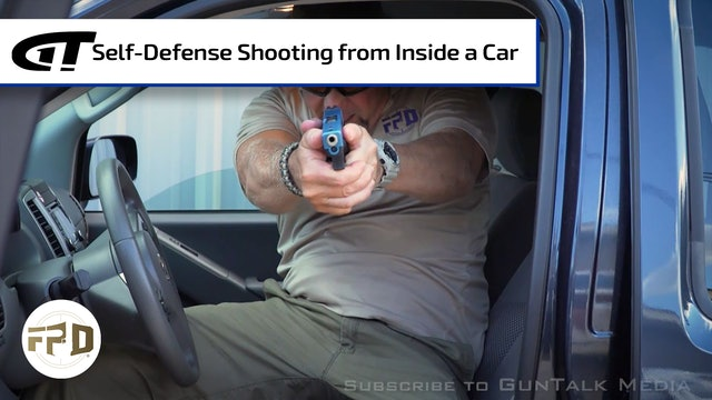 Self-Defense Shooting from Inside a Car
