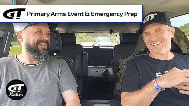 Primary Arms Event, Emergency Prep