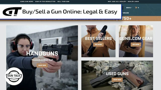 Easy Way to Sell or Buy a Gun