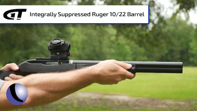 Integrally Suppressed Barrel for Ruge...