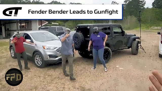 Parking Lot Fender Bender Leads to Gunfight