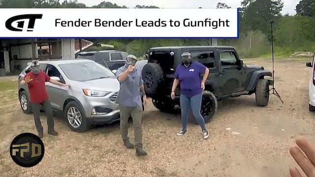 Parking Lot Fender Bender Leads to Gu...