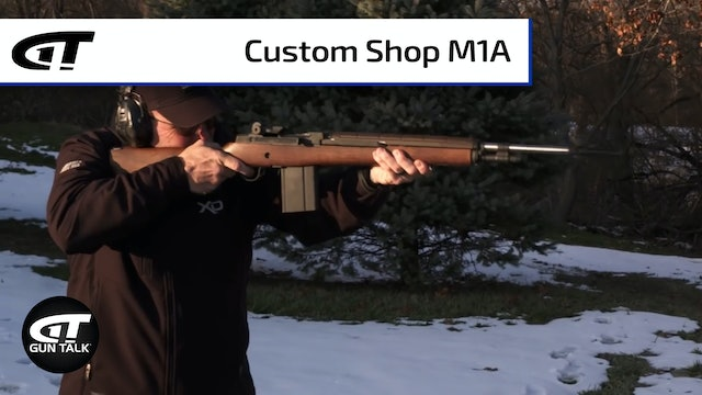 Variations and Custom Shop Upgrades to the Springfield M1A
