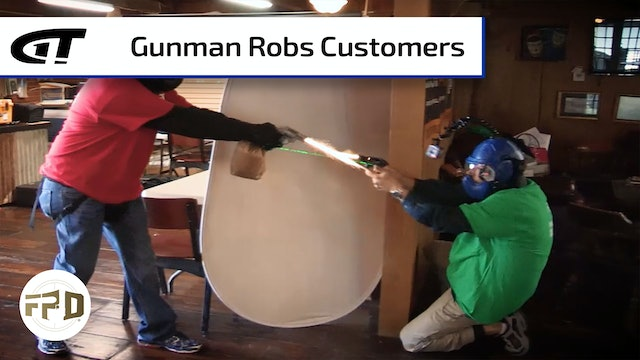 Armed Robber Rounds up Patrons