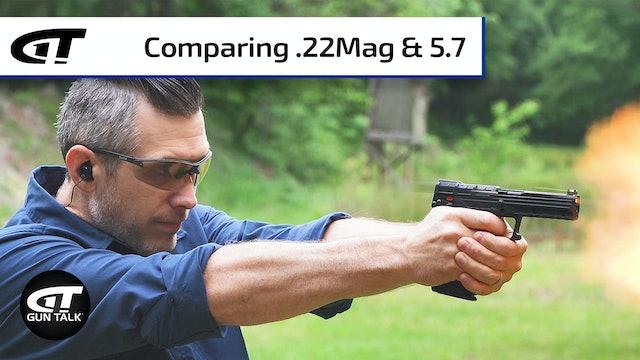 Cartridge Comparison: 5.7x28mm vs .22 Magnum