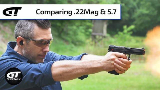 Cartridge Comparison: 5.7x28mm vs .22...