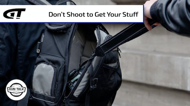 No, You Can't Shoot Someone for Steal...