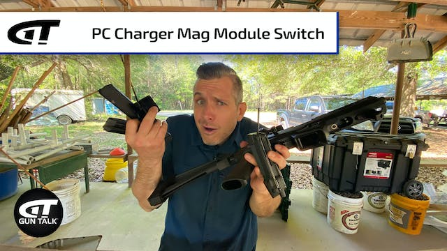 Changing the Ruger PC Charger Mag Module