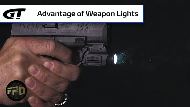 Benefit of a Weapon-Mounted Light for...