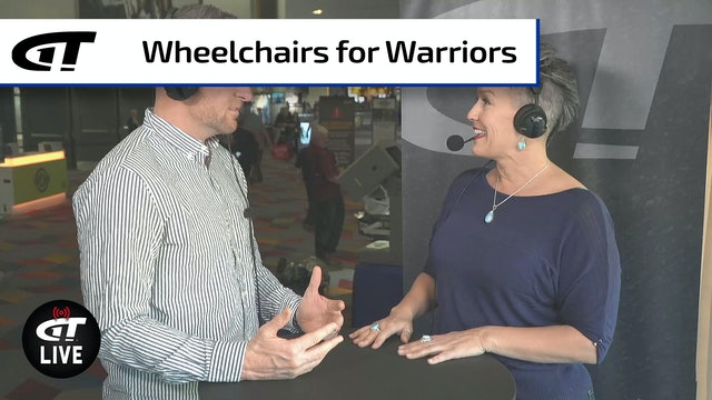 Wheelchairs for Warriors, PLUS Shower Gun Winner