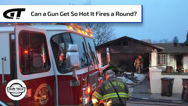 Loaded Gun Fires A Round and Strikes ...
