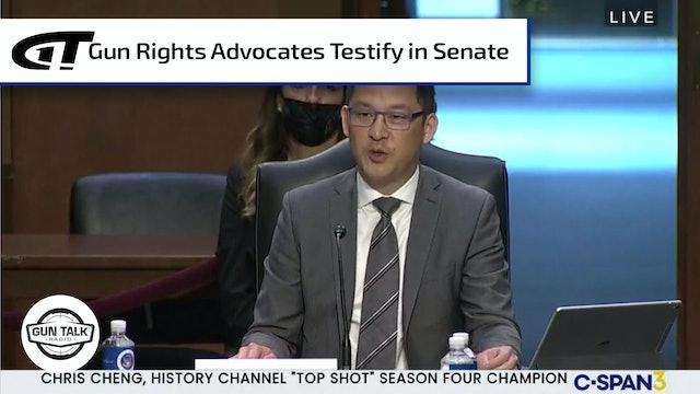 Chris Cheng Testifies at Senate Hearing on Guns