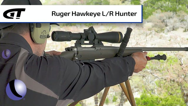 Ruger Hawkeye Long-Range Hunter in 6....