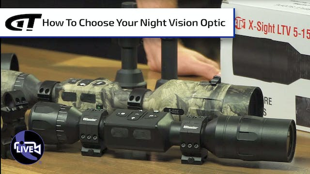 How to Choose Night Vision