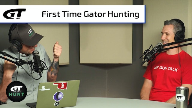 First Time Gator Hunting