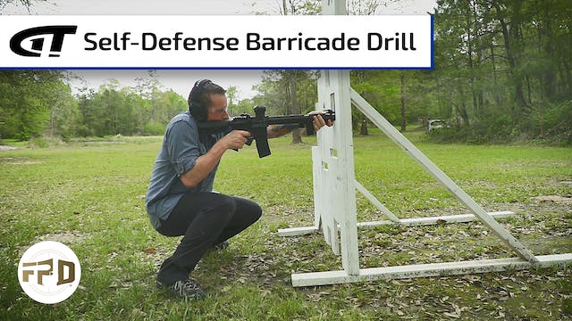 Self-Defense Barricade Drill