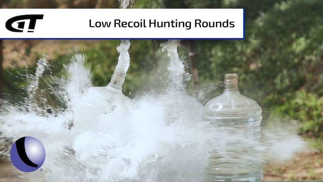 HSM Low Recoil Rounds in 6.5 Creedmoor
