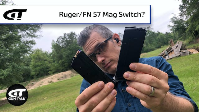 QUICK! Can you switch Ruger and FN 57...
