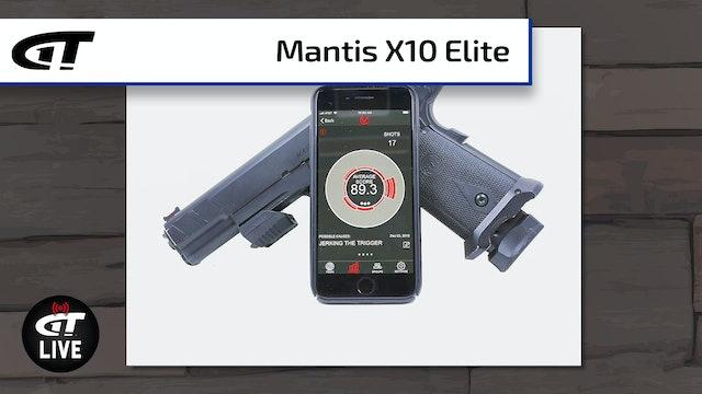 Mantis X10 Elite (Plus, Win a Shower Gun!)