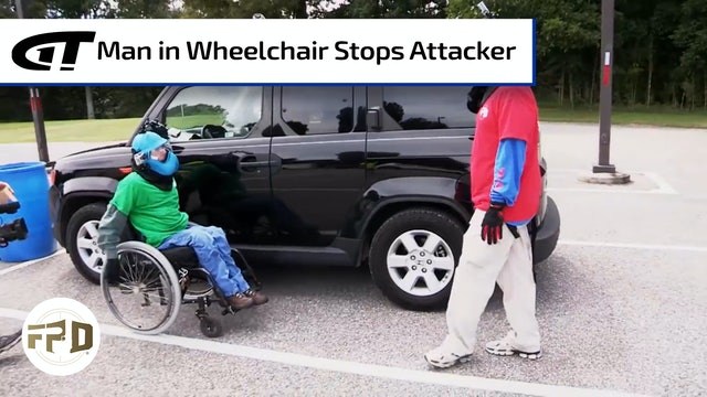Predator Targets Man in Wheelchair