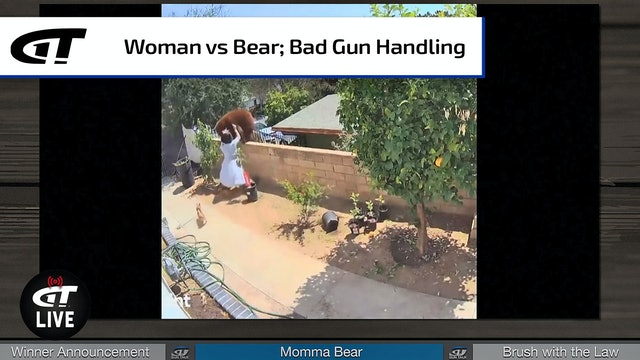 """Momma Bear"" vs Real Momma Bear; Ryan's Brush with the Law"