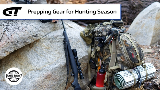 Hunting Season Prep; Tech, Bullet Weights & Cartridges