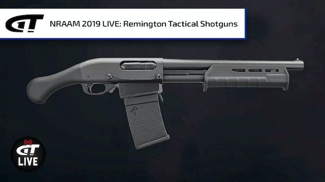 Remington 870 DM Pump Shotgun, TAC-14, and TAC-13