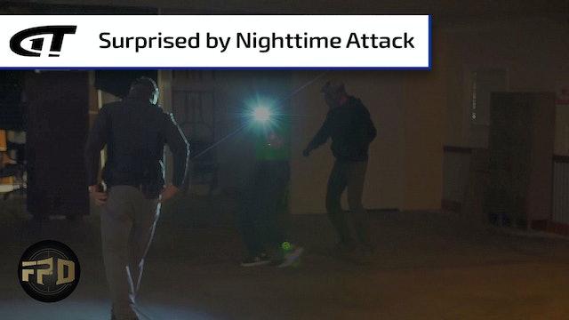 Man Attacked in Parking Garage Last Night