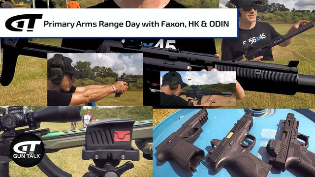 Primary Arms Range Day with Faxon, HK...