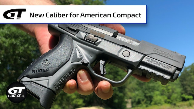 Ruger American Compact in .45 ACP