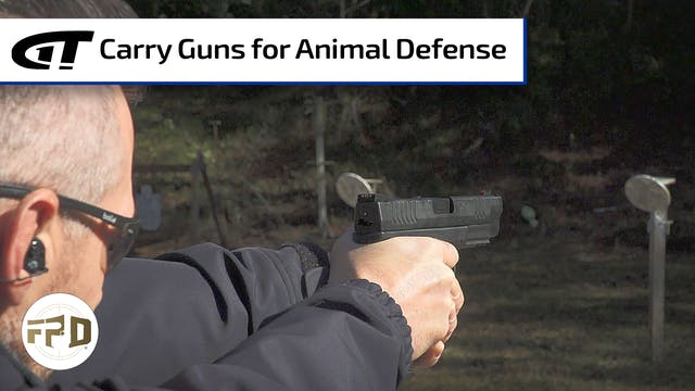 Carry Guns for Animal Defense