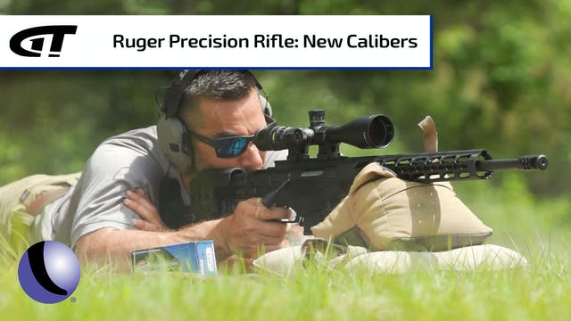 Long Range Ruger Precision Rifle - Ne...
