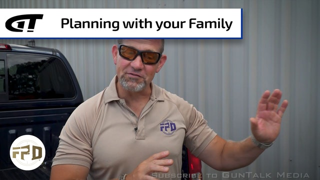 Planning for a Defense Situation with your Family