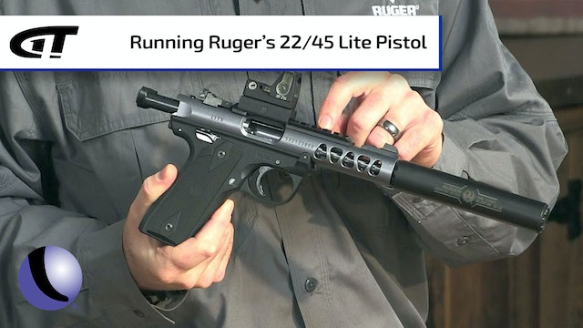 Ruger 22/45 Lite - Great Rimfire for New Shooters