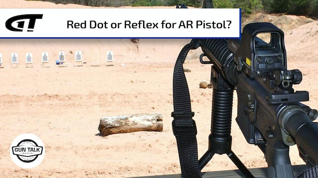 Choosing an Optic for Your AR Pistol