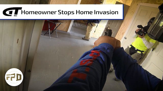 Home Invasion Foiled by Armed Homeowner