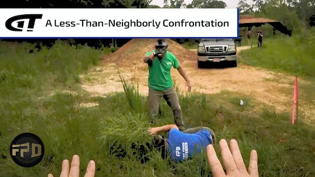 Angry Neighbor Confronts Landowner