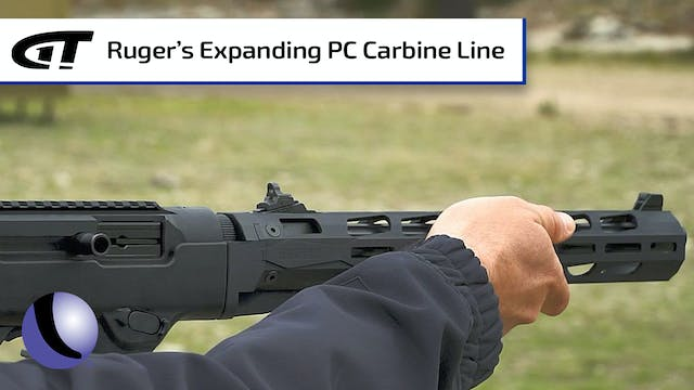 Additions to Ruger's PC Carbine Line