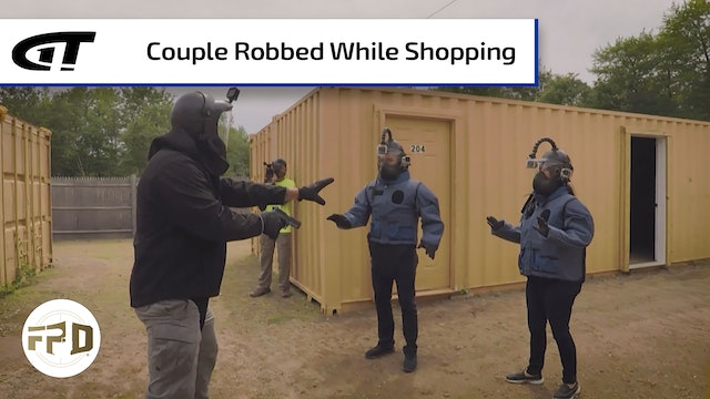 Local Couple Robbed at Gunpoint While Shopping