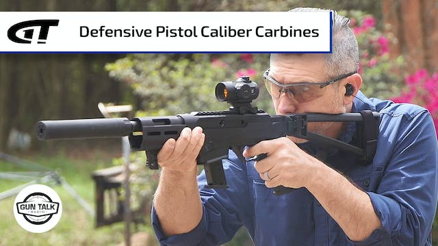 Do Pistol Caliber Carbines Work for H...