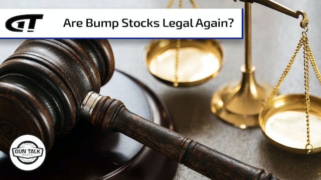 Are Bump Stocks Legal Again?