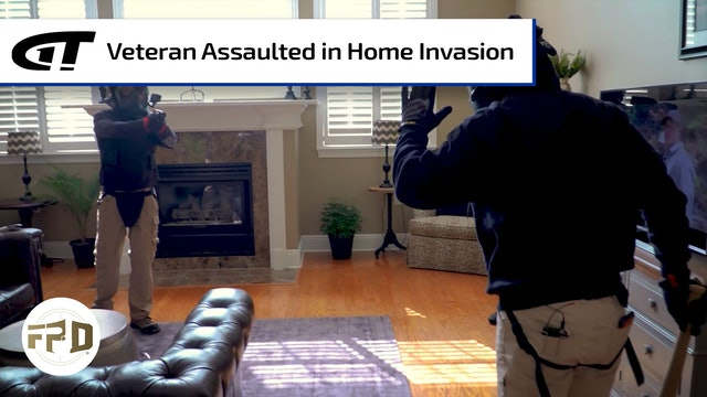 Combat Veteran Assaulted in Home Invasion