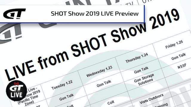 SHOT Show 2019 Preview