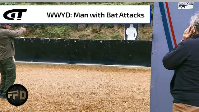 What Would You Do: Bat-Wielding Man Tries to Attack